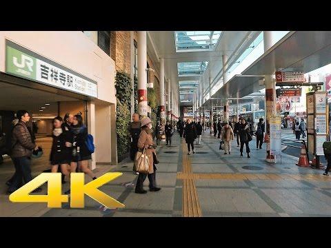 Walking around Kichijoji, Tokyo - Long Take【東京・吉祥寺】 4K