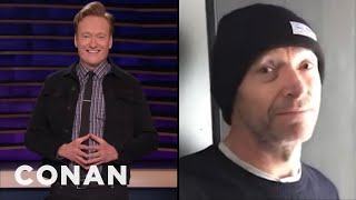 Hugh Jackman Invites Conan To Visit Australia - CONAN on TBS