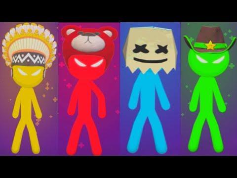 STICKMAN PARTY NEW MINIGAMES Gameplay Walkthrough THE STICKMAN MINI GAMES TOURNAMENT Android Game
