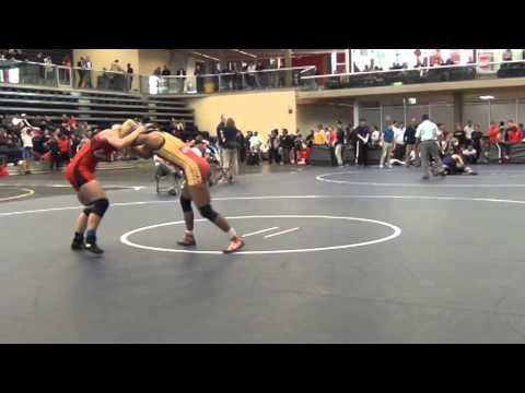2014 SFU International: 55 kg Jacarra Winchester vs. Emily Kessler