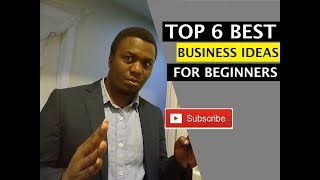 Top 6 Best Small Business Ideas For Beginners | Intermediate Business Ideas You Can Start Today.