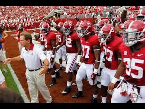 Alabama Football PumpUp 20152016  We WILL Be Back