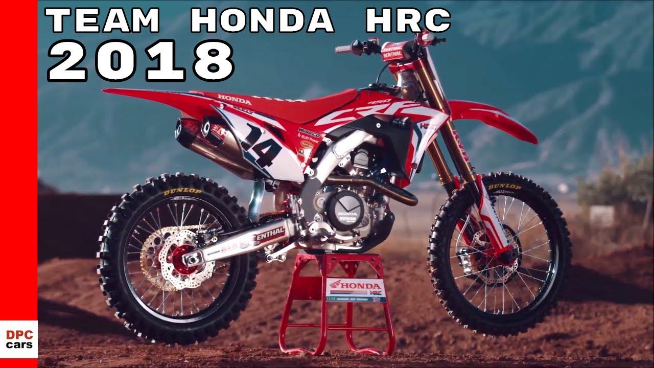 2018 Team Honda Hrc Youtube