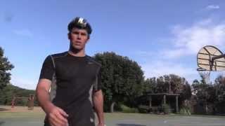70 Yard Jump Swing Trick Shot | Brodie Smith