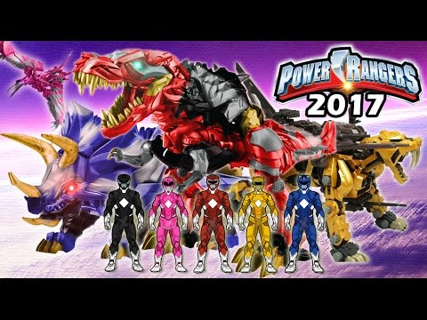 Power Rangers THE MOVIE 2017 FINAL Casts and Zord Concept Art