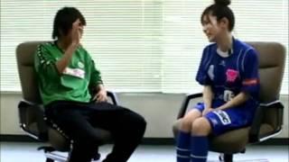 近賀ゆかり(2007年) タレントと筋トレ対決 なでしこジャパン 1/2