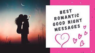 Romantic Good Night Text Messages