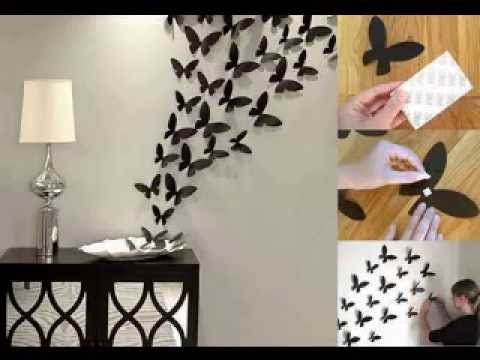 Wall decor home ideas - YouTube on Wall Decoration Ideas At Home  id=26961