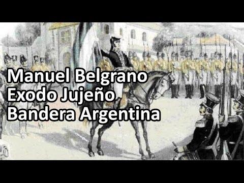 Belgrano, el Exodo Jujeño y la Bandera Argentina