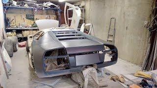 Самодельный Ламборгини Replica Lamborghin/ 6 серия Пуск двигателя, готовимся к старту