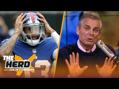 Colin Cowherd defends OBJ criticizing Eli Manning, message for Eagles \'fun\' culture | NFL | THE HERD