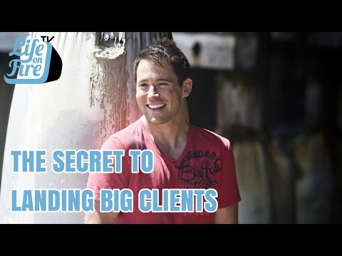 "How to Get Big Clients - The ""Anchor Client"" Strategy... Perfected!"
