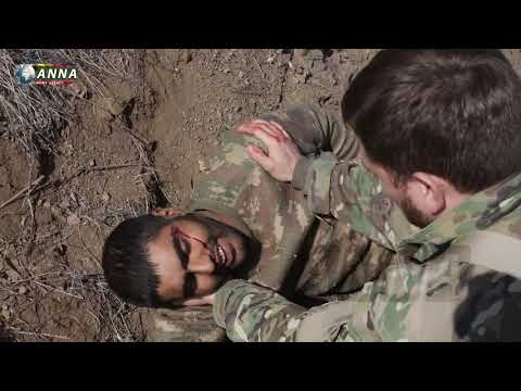Азербайджанских солдат спасают  армянские солдаты  новости  Карабаха