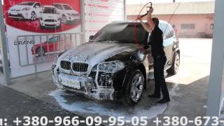 Мойка авто на мойке самообслуживания, мийка авто на мийці самообслуговування LuxWash(Компания