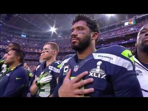 SuperBowl 49 National Anthem - Star Spangled Banner