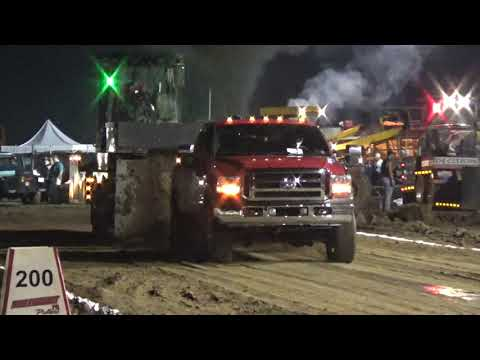 NWPA Pullers, Open Street Diesel, Lawrence County Fair, New Castle, Pa, 8/15/19