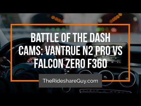 Battle Of The Dash Cams: VanTrue N2 Pro Vs Falcon Zero F360