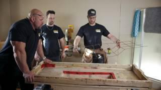 Bâtir un évier sur mesure en ciment