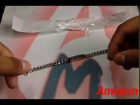 fee22b77a How to Spot Fake Gucci Bracelet Chain Unisex - YouTube