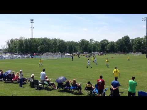Michigan Wolves vs Midwest United State Cup Final and celebration