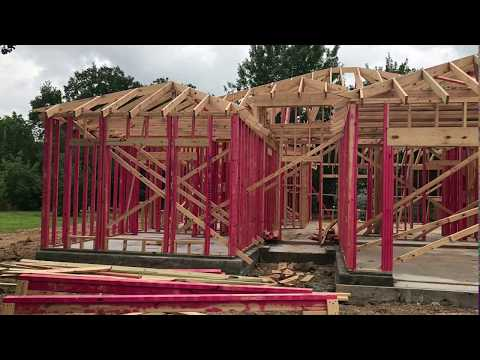 Framing new investment property house in Houston Texas