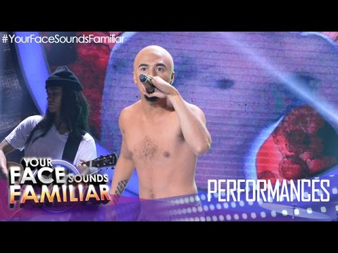 Your Face Sounds Familiar: Sam Concepcion as Dong Abay -