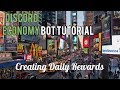 Discord Economy Bot Tutorial  | Creating Daily Rewards [2]