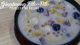 Ginataang Bilo-Bilo