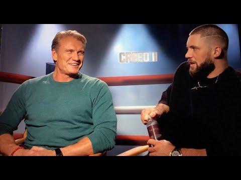 Dolph Lundgren & Florian Munteanu talk about Creed II