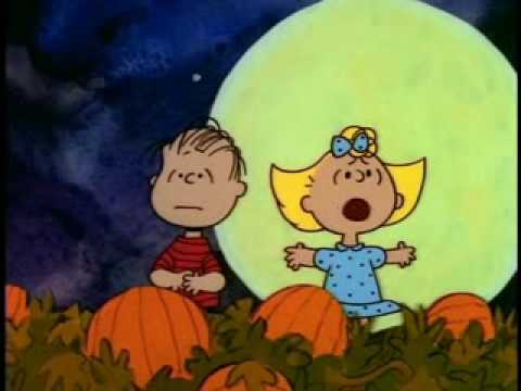its the great pumpkin charlie brown clip - Charlie Brown Halloween Cartoon