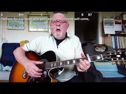 Guitar: I Believe (Including lyrics and chords)