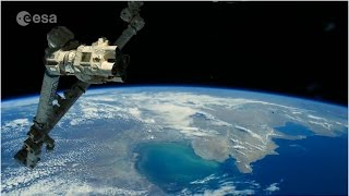 Alexander Gerst: faszinierende Eindrücke aus dem Weltall