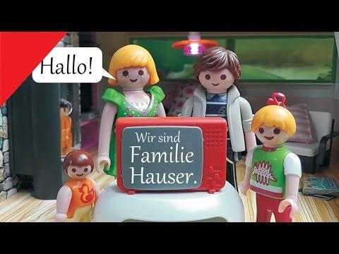 playmobil family stories familie hauser kanaltrailer. Black Bedroom Furniture Sets. Home Design Ideas