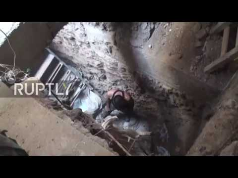 Syria: Pro-Damascus militia targets anti-govt. forces with tunnel explosives