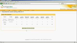 This video educates on how to enter timesheets using orangehrm open source software.