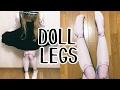 LOLITA DOLL LEGS! CREEPY CUTE ball joint tights and Harajuku fashion accessory haul ☆ Spreepickey
