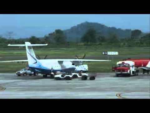 Peresmian lanud wirasaba sebagai bandar udara komersil.