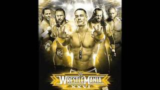 "Wrestlemania 26 official theme song ""I MADE IT"" + Official Matchcard (updated)"