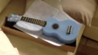 Macey's new you-beaut blue uuke