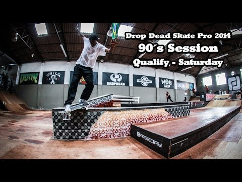 Drop Skate Pro 2014 - 90´s Session - Qualify - Saturday