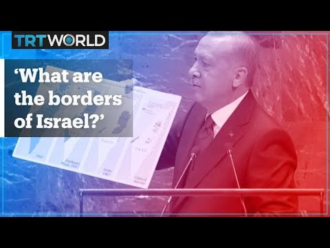 Erdogan Talks Israel And Creation Of Palestinian State At UNGA