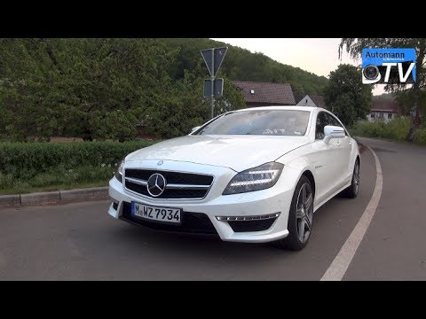 2014 mercedes cls 63 amg 558hp drive sound 1080p