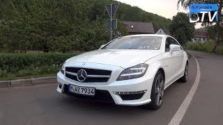 2014 Mercedes CLS 63 AMG (558hp) - DRIVE & SOUND (1080p)