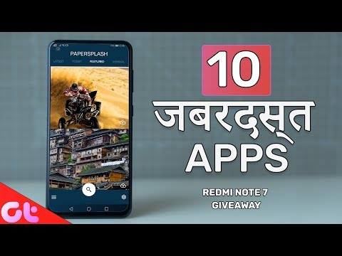 Top 10 FREE NEW Android Apps of the Month - JULY 2019 | Xiaomi Note 7 Giveaway | GT Hindi