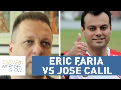 Jornalistas Esportivos Eric Faria E José Calil Se Estranham No Twitter