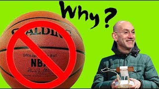 WHY CAN'T YOU KEEP AN NBA BASKETBALL THAT GOES INTO THE STANDS?