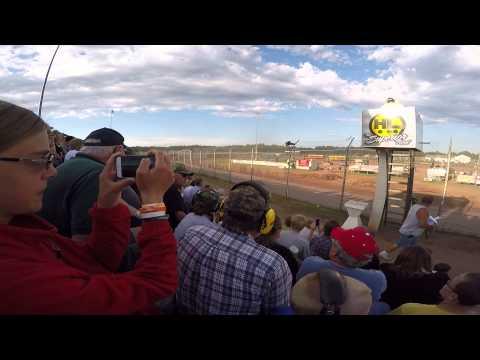 Proctor Speedway 2015 - celebrity Bus Race