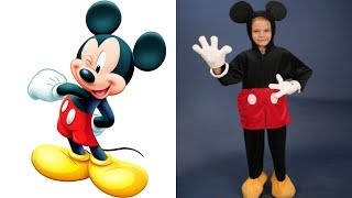 Mickey Mouse Characters in Real Life