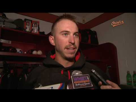 Oliver Drake on his first career win