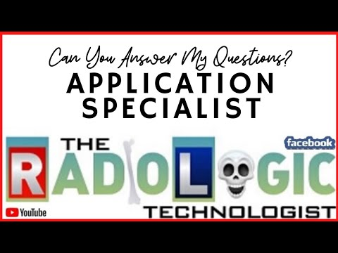 Radiology Career: Application Specialist And What They Do